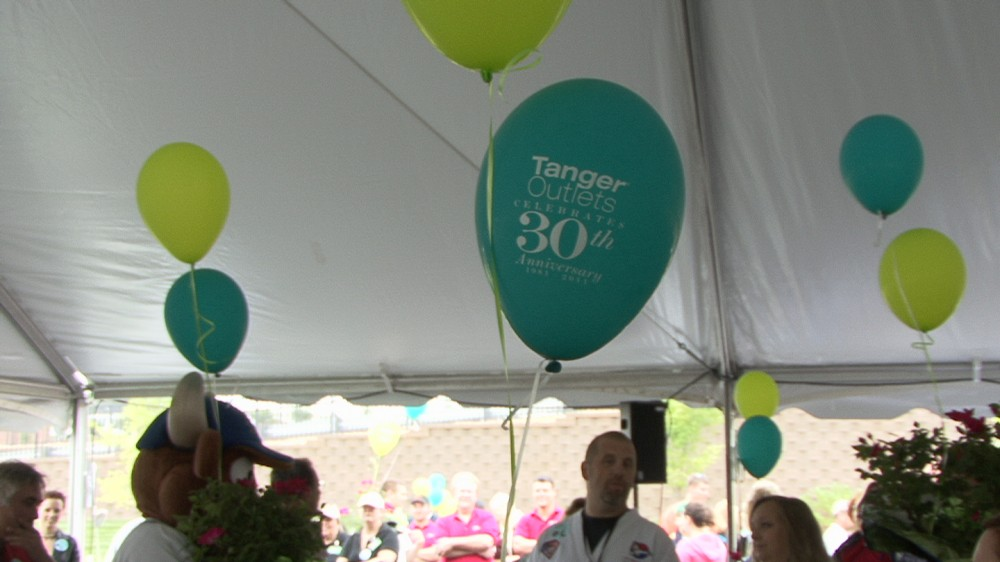 Morrison Video Productions helps Tanger Outlets of Greensboro, NC to celebrate